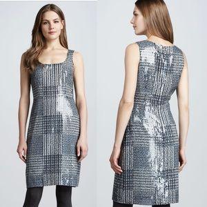 Tory Burch Bristol Sequin Houndsworth Sheath Dress